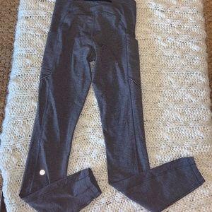 LuLulemon gray legging